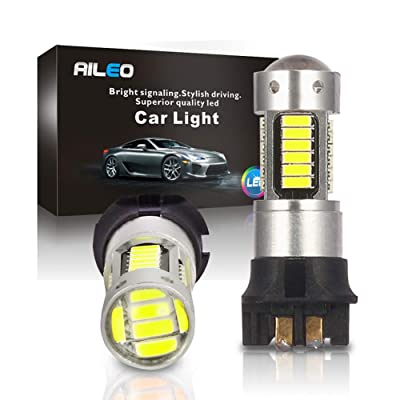 Canbus Error Free PWY24W PW24W LED Bulbs Xenon White Extremely Bright 30-SMD Turn signal Lights Daytime Running Lights For BMW F30 3 Series Volkswagen MK7 Golf Audi A3 (PW24W White): Automotive