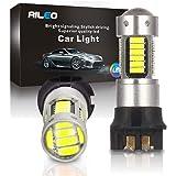 6K Xenon White 42-SMD PW24W LED Bulbs For BMW F30 3 Series Halogen Headlamp Daytime Running Lights iJDMTOY Auto Accessories PW-24W PW24 PWY24W iJDMTOY 2