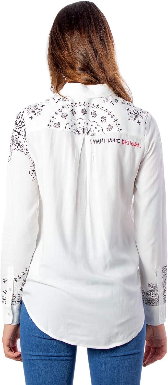 Desigual Camicia Manica Lunga Donna Cam Sally 19wwcw09