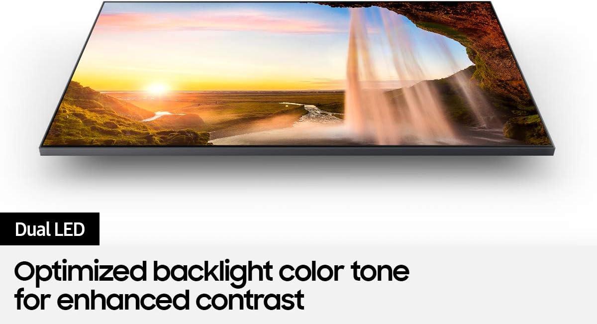 SAMSUNG 60 Inch QLED Q60A - 4K UHD Dual LED Quantum HDR Smart TV with Alexa
