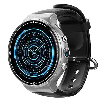 2c26f5a8f2c89 IQI i8 Android7.0 Quad Core Caméra fréquence Cardiaque 4 G SIM GPS  Smartwatch pour