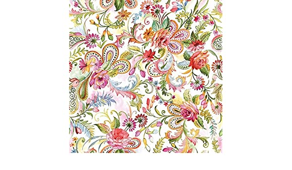33 x 33cm 4 Paper Napkins for Decoupage 4 Individual Napkins for Craft and Napkin Art. Gypsy 3-ply