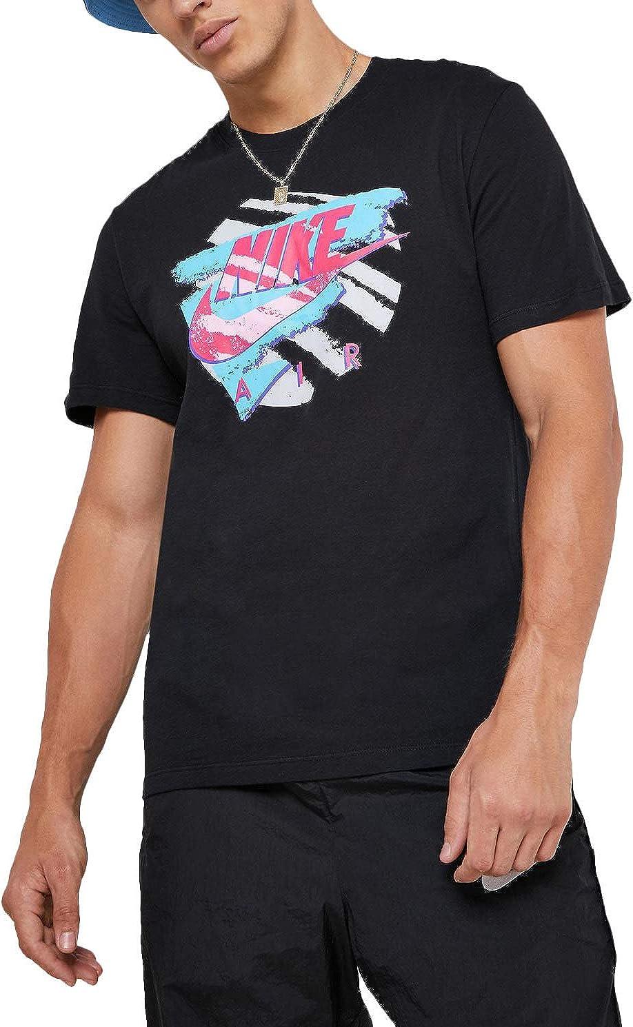 Nike Mens NSW Shorts Sleeve Tee Exp 2 Bv7507-010