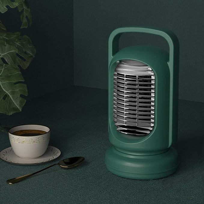 YHX Calentador, Calentador eléctrico Retro Elegante de Escritorio pequeño casero, Mini Sol de la Oficina