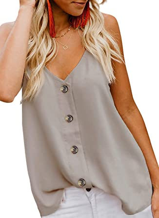 Whear Tank Tops Womens Summer Solid Lace Crew Neck Casual Tee Shirt Sleeveless Tunic Blouses Vest Cami