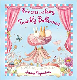 Book Princess and Fairy. Twinkly Ballerinas