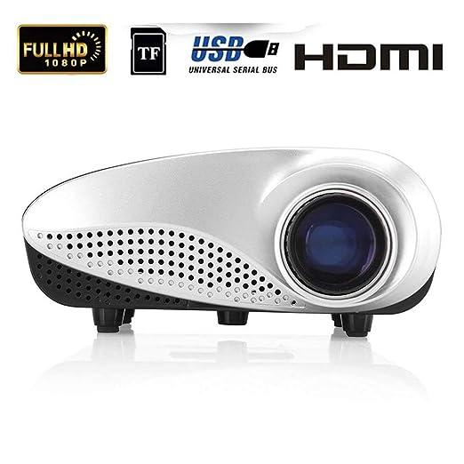 Mengen88 Mini proyector portátil LED 12V 60 lúmenes ...