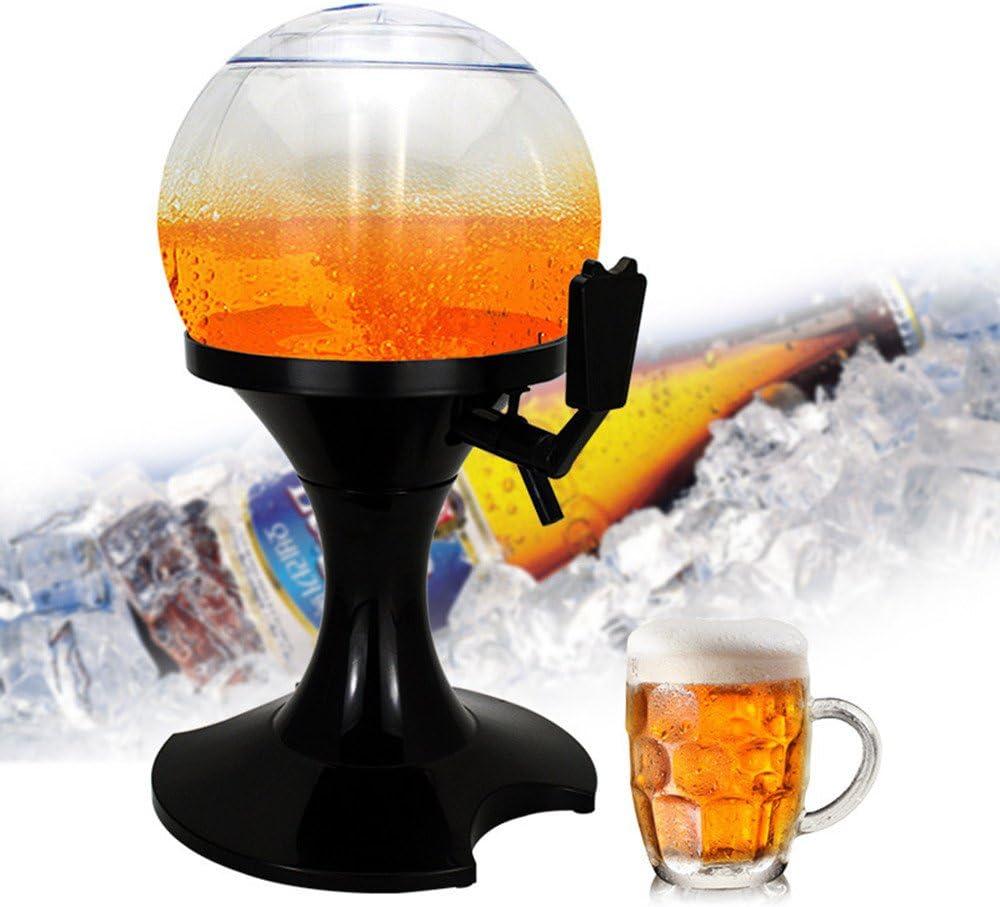 DCL Bola esférica de Vino de 3,5 L con icepote, Tipo Cerveza para envasar Bebidas, máquina para Fiestas de Vino