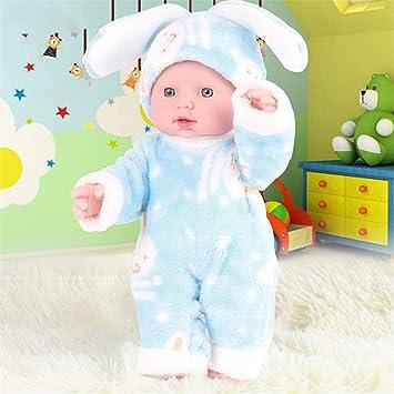 Kalttoy Muñeca de bebé recién nacido, silicona suave, realista ...