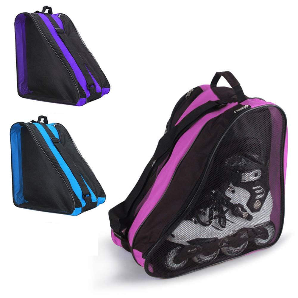 Amazon.com: liyhh Roller - Bolsa de nailon para patinaje de ...