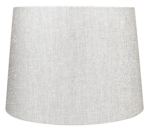 french drum metallic fabric lamp