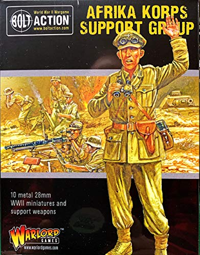 Warlord Games, Bolt Action, Afrika Korps Support Group, Wargaming Miniatures