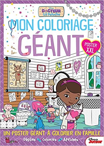 Mon coloriage géant Docteur La Peluche XXL (French Edition): Disney Junior, Hachette: 9782014007466: Amazon.com: Books