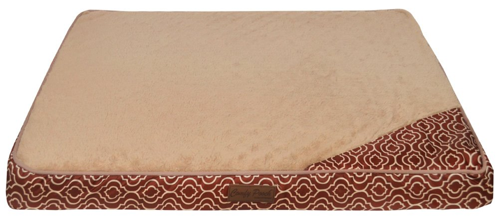 Home Dynamix CPPTM-569 Comfy Pooch Printed Mat, 27'' x 36'', Spice Red by Home Dynamix (Image #1)