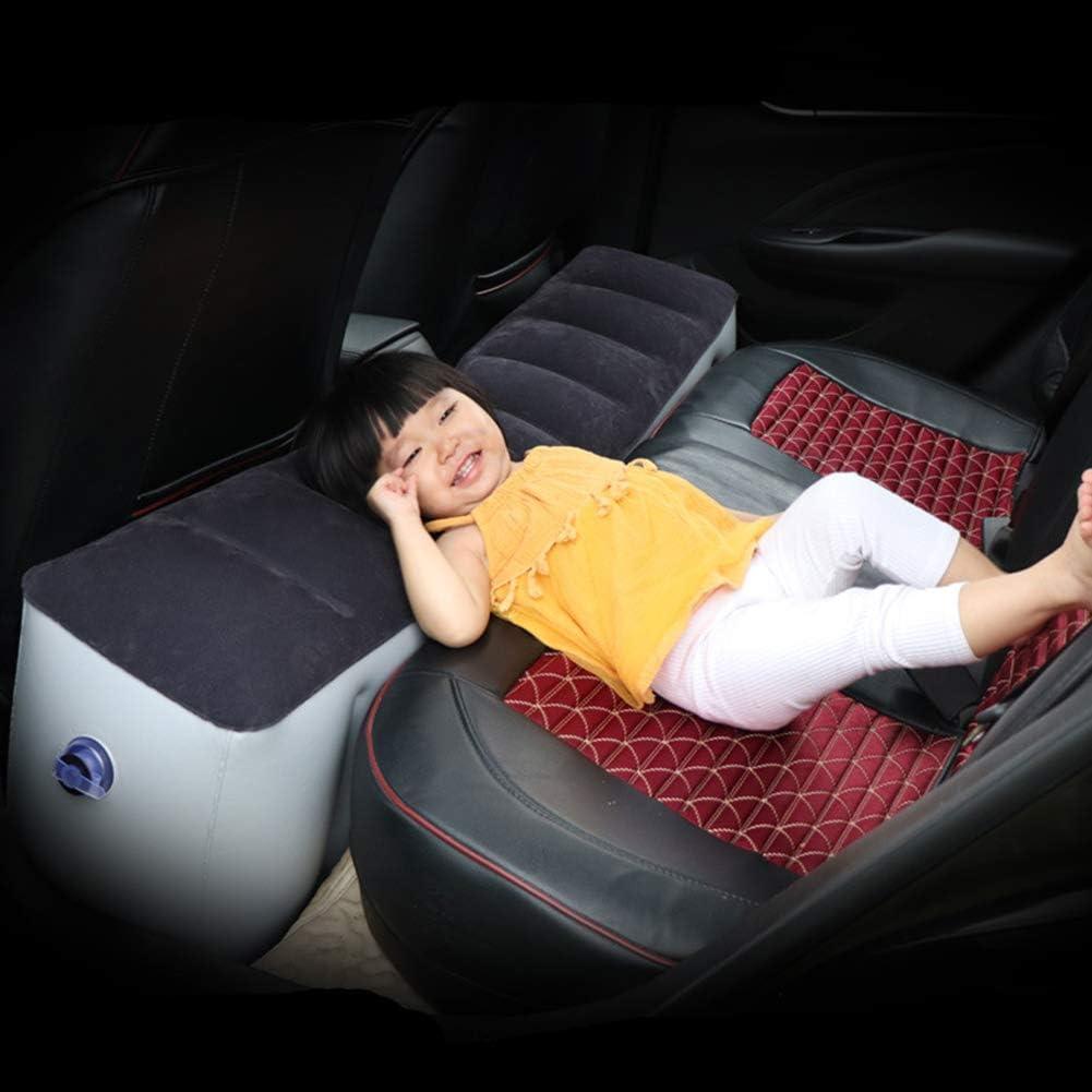 1 1 Pas de z/éro VerneAnn Matelas de voiture gonflable doux Coussin gonflable Voyage Camping Pique-nique Intervalle rapide Pad pratique Si/ège arri/ère pliable Voir image