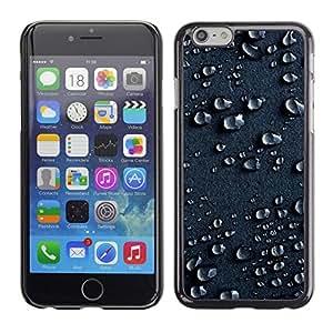 PC/Aluminum Funda Carcasa protectora para Apple Iphone 6 Plus 5.5 Water Drops Rain Moisture Droplet Art Surface / JUSTGO PHONE PROTECTOR