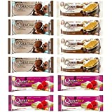 Quest Nutrition Protein Bar Chocolate Mix-Up Variety Pack. Low Carb Meal Replacement Bar w/ 20g+ Protein. High Fiber, Soy-Free, Gluten-Free (12 Count)