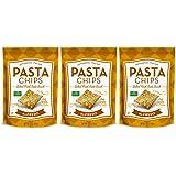 Vintage Italia Authentic Italian Baked Fresh Pasta Chips Alfredo, 5 Oz. - Pack of 3