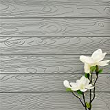 DIY 3D Wood Grain Wall Stickers Self Adhesive Brick Pattern Soft Pack TV Sofa Background Living Room Decoration