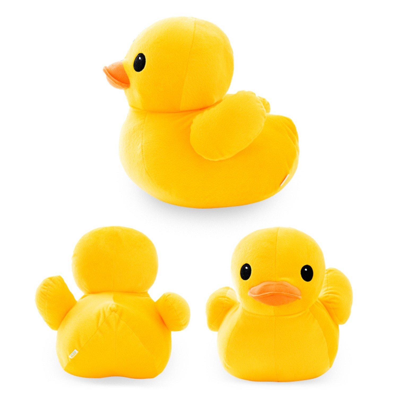 Amazon Com 1pcs Big Yellow Duck Stuffed Animals Plush To Cute Big