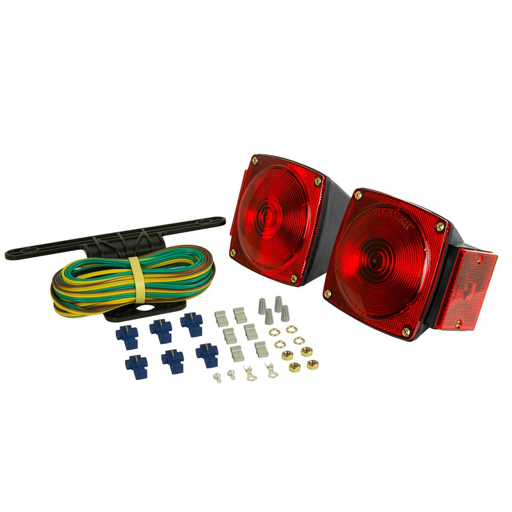 Blazer C6421 Square Submersible Trailer Light Kit by Blazer International Trailer & Towing Accessories