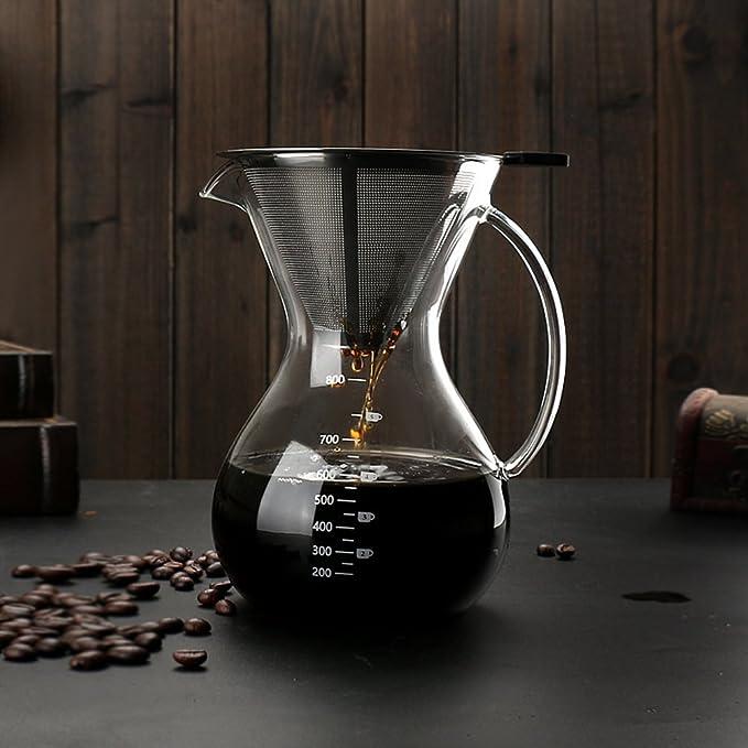 1 opinioni per Sheny Filtro Caffettiera goccia mano con acciaio inox filtro Macchine da caffè