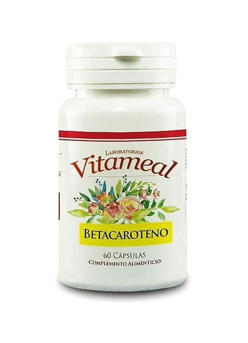 Vitameal Betacaroteno - 60 Cápsulas: Amazon.es: Salud y ...