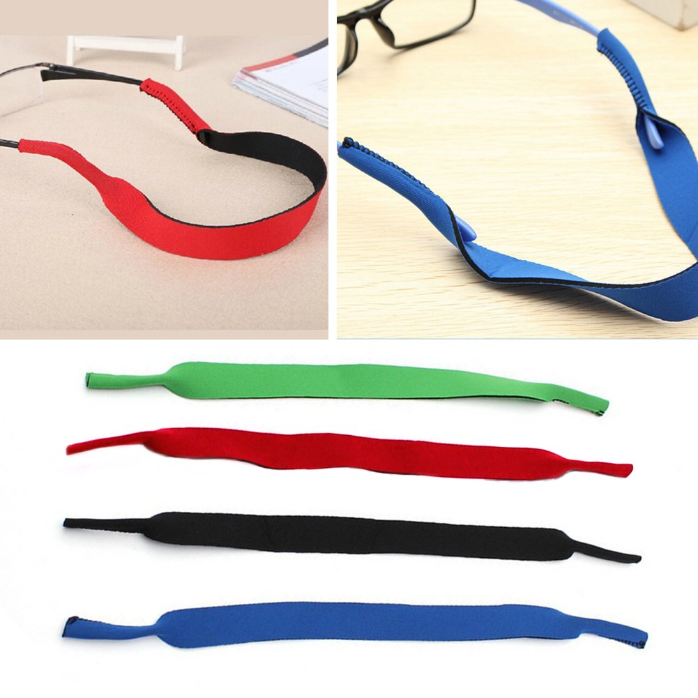 d63f50a394a0 SBR Spectacle Glasses Anti Slip Strap Stretchy Neck Cord Eyeglasses String  Sunglass Rope Band Holder (Blue): Amazon.in: Clothing & Accessories