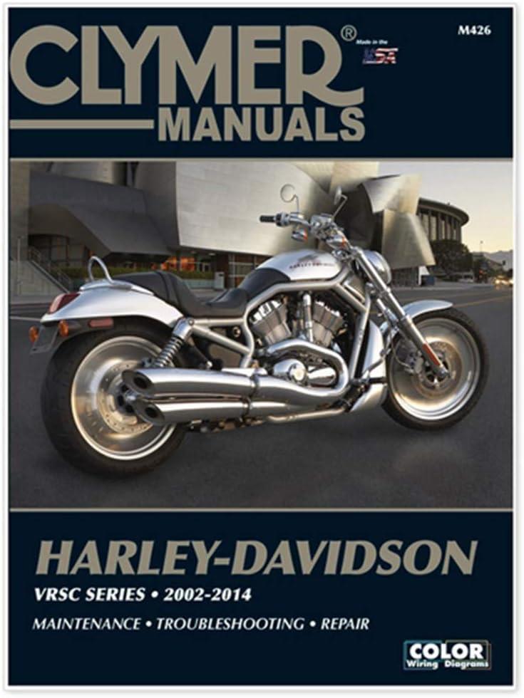 clymer repair manual for harley v-rod vrsc 02-07, diagnostic ...  amazon.ca