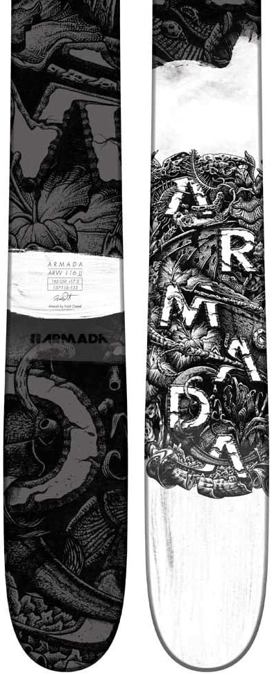 ARMADA ARW 116 VJJ Ski 165cm Womens Black Flower