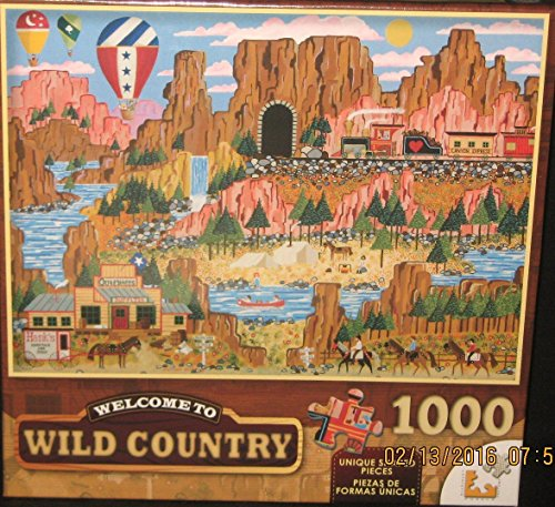 Canyon Express 1000pc Wild Country Series Puzzle