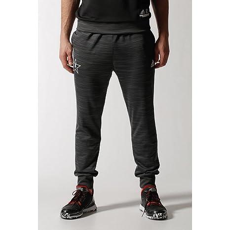 adidas All Star Pantalón de chándal para Hombre Negro/Gris Talla ...