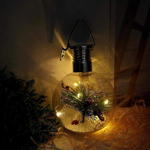 samlike DIY Solar lámpara solar LED Lámpara de techo con ...