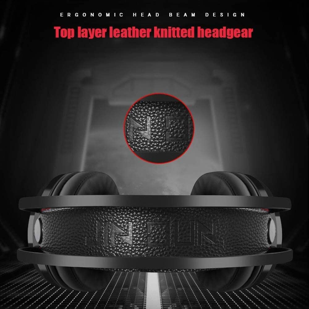 BB Noise Canceling 7.1 HD Stereo RGB Soft Headphones Gaming Headphones Fashion Game Cool Soft Breathable Noise Colorful Lights Gaming Headphones b0102