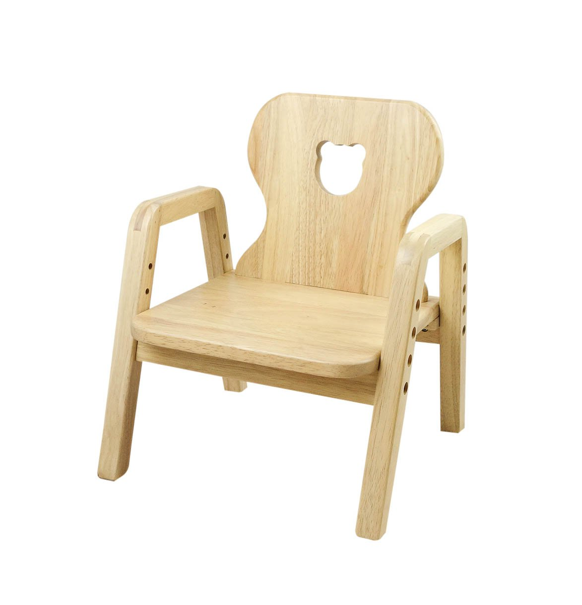 Primary Adjustable Wooden Chair (Bear) - For Children from 1 year to 7 year old. Mesasilla