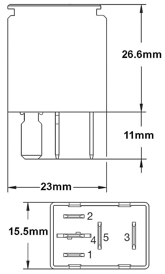 A 007794021 12V 20//40 Amps SPDT Relay Xmas