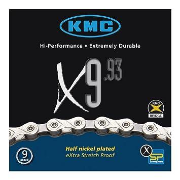 KMC X9L 9-fach Kette //// 116 Glieder