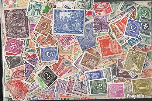 Allied Cast in Germany 500 Different Stamps Zones West + East After The 2. War (Stamps for Collectors)