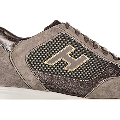 78723940a3ac 30%OFF Hogan women s shoes suede trainers sneakers interactive h flock brown