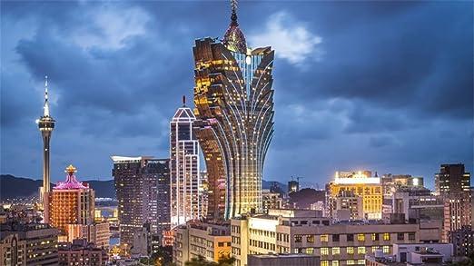 ClassicJP Rompecabezas para Adultos Hotel Macao Grand Lisboa ...