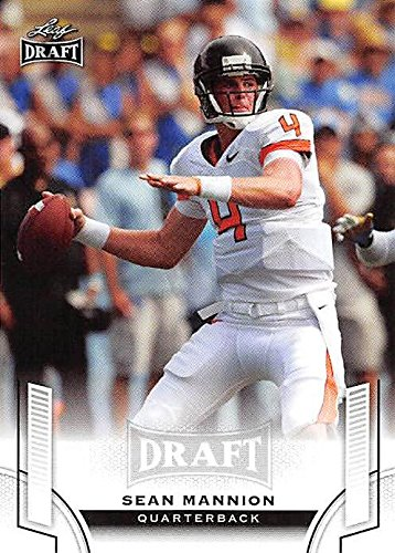 Sean Mannion Football Card (Oregon State Beavers, Los Angeles Rams) 2015 Leaf Draft #49 Rookie