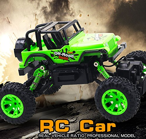 EEP, 4 X 4, MONSTER TRUCK, 2.4 GHZ, 1:14 SCALE, REMOTE CONTROL TRUCK, RC TRUCK (Monster Truck Jumping Cars)