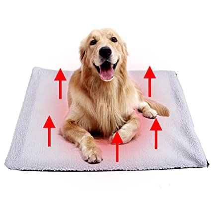 Official Website Dog Self Heating Pad Pet Cushion Bed For Medium Large Dogs And Cats Reflects Pets Own Thermal With Zipper Washable Automobiles & Motorcycles