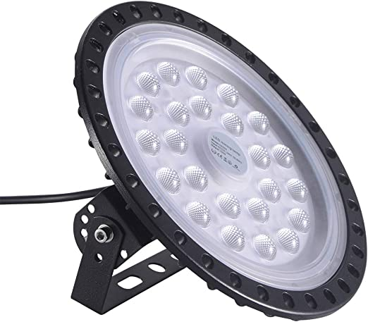 100W 10000lm UFO High Bay Light LED Light Factory Warehouse Workshop Lighting