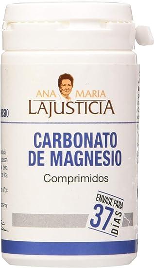 Carbonato Magnesio 75 comprimidos de Ana Maria Lajusticia: Amazon.es: Salud y cuidado personal