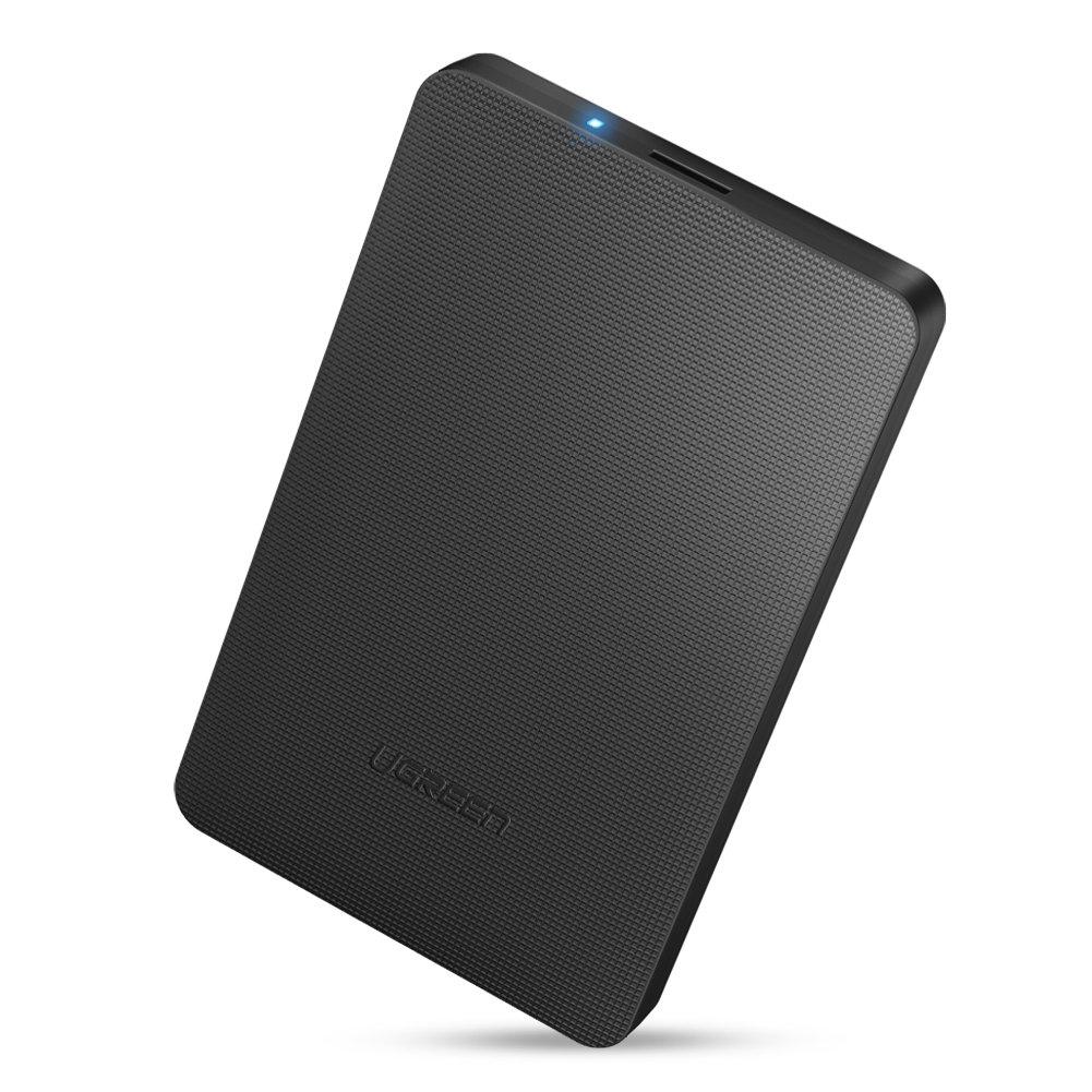 UGREEN Carcasa Disco Duro 2.5' USB 3.0 con UASP Caja Disco Duro de HDD SSD SATA I/II/III de 7mm 9.5mm de Altura, 6 TB MAX, con Cable USB 3.0 Ugreen Group Limited 50208