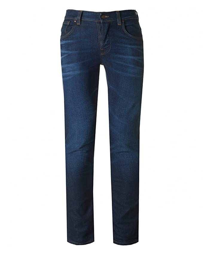 Nudie Jeans Grim Tim Slim Regular Fit Jeans 32R Crispy ...