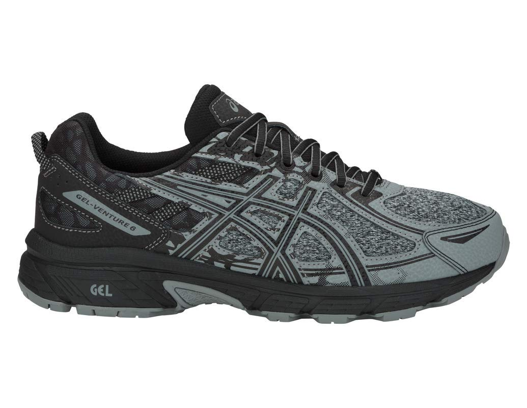 ASICS Gel-Venture 6 MX Men's Running Shoe, Stone Grey/Stone Grey, 7 M US