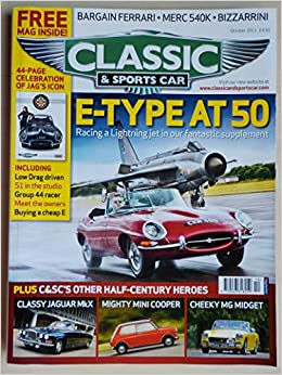 Classic Sports Car Magazine October 2011 E Type At Cover Amazon