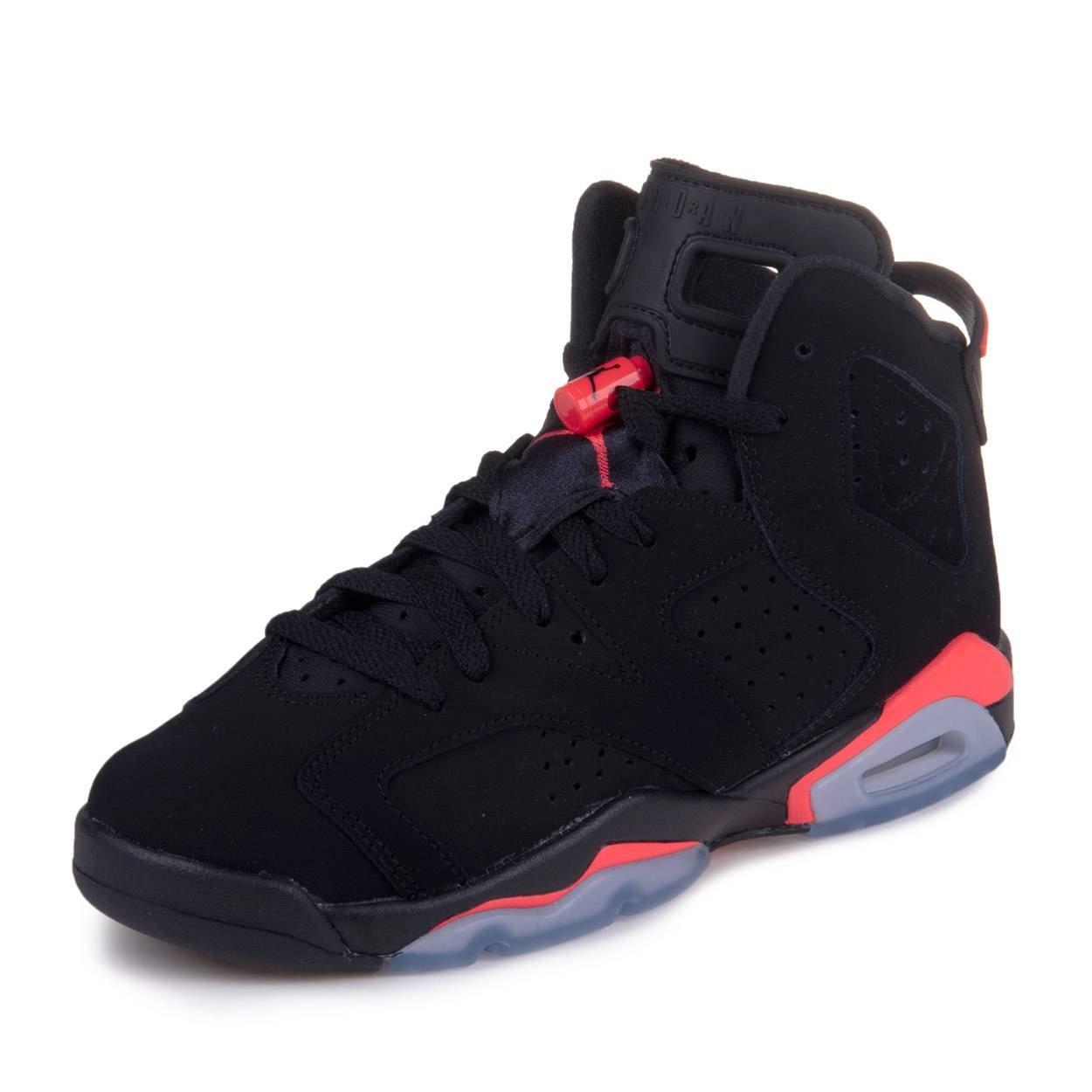 uk availability c0920 d2583 Galleon - Jordan Kids (GS) Retro 6 Black Infrared 23 384665-023 7